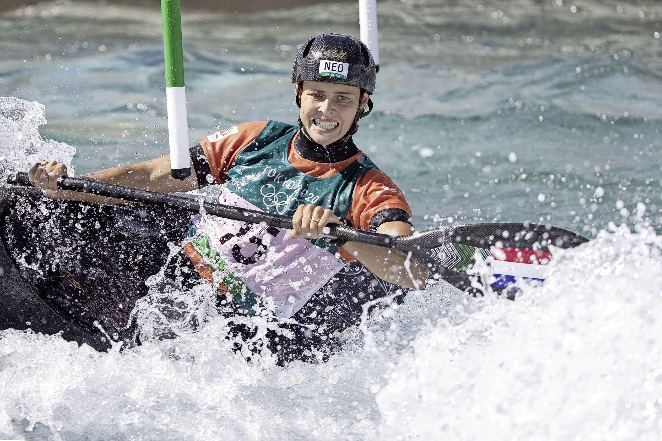 Kanovaarster Wegman eindigt als zevende in olympische finale