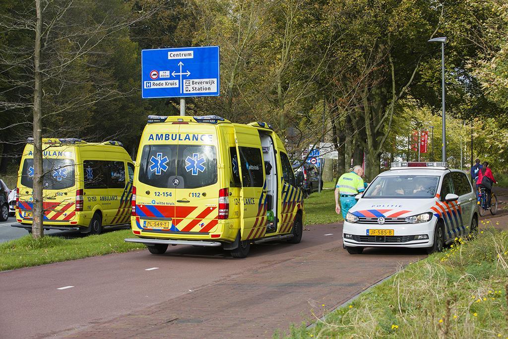 Fietser ernstig gewond bij val in Beverwijk