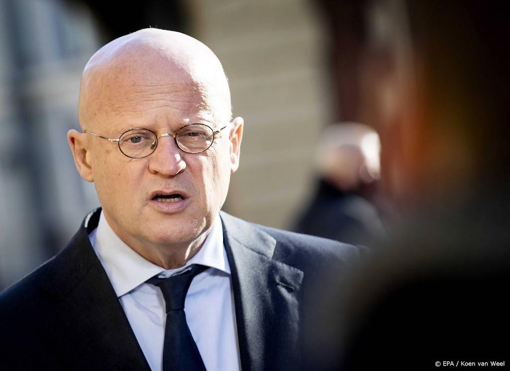 Grapperhaus: geen opdracht van regering om ministers te vervolgen