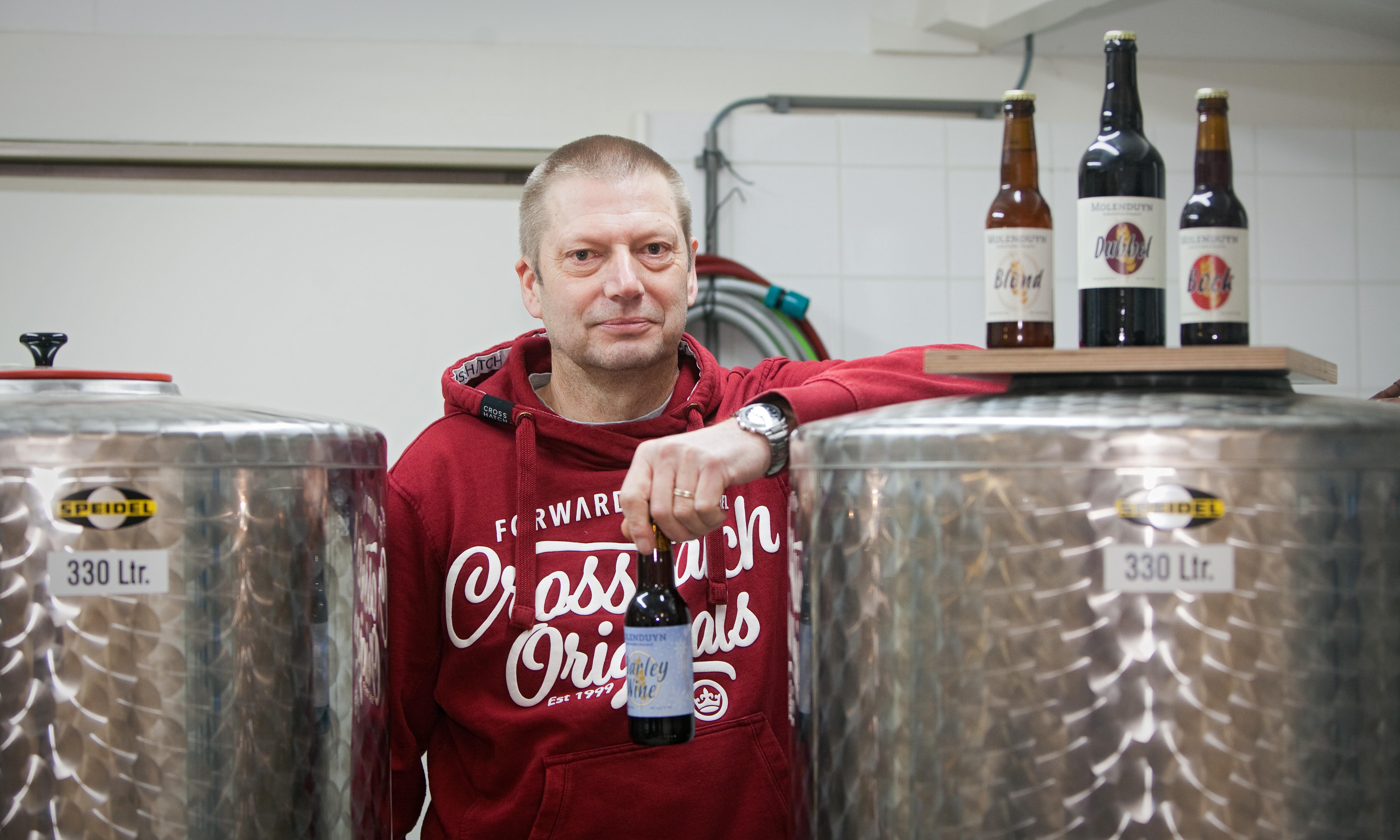 Hobbybrouwer Kees van Roode: 'Er zijn tachtig verschillende typen bier en pils is er daar maar één van. Het is mooi als mensen die zeggen geen bier te lusten, dat van mij tóch lekker vinden'