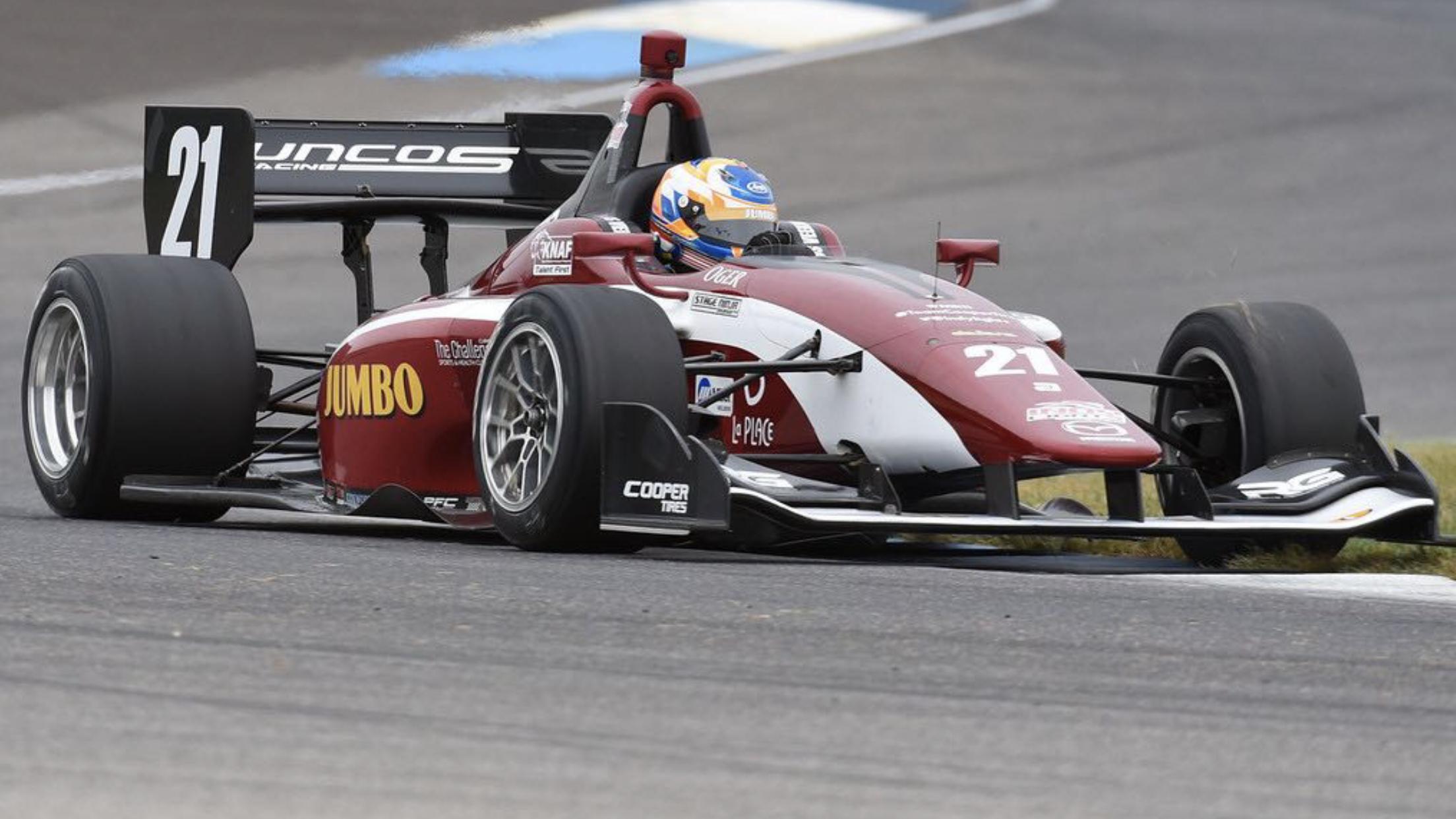 Rinus van Kalmthout won gisteren zijn eerste IndyCar race. Lees hier het eerste interview terug dat wij met hem hielden: In de voetsporen van Arie Luyendyk