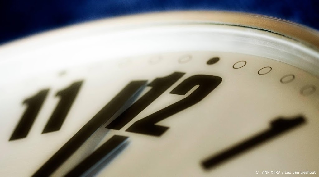 Wintertijd gaat in: de klok een uur achteruit