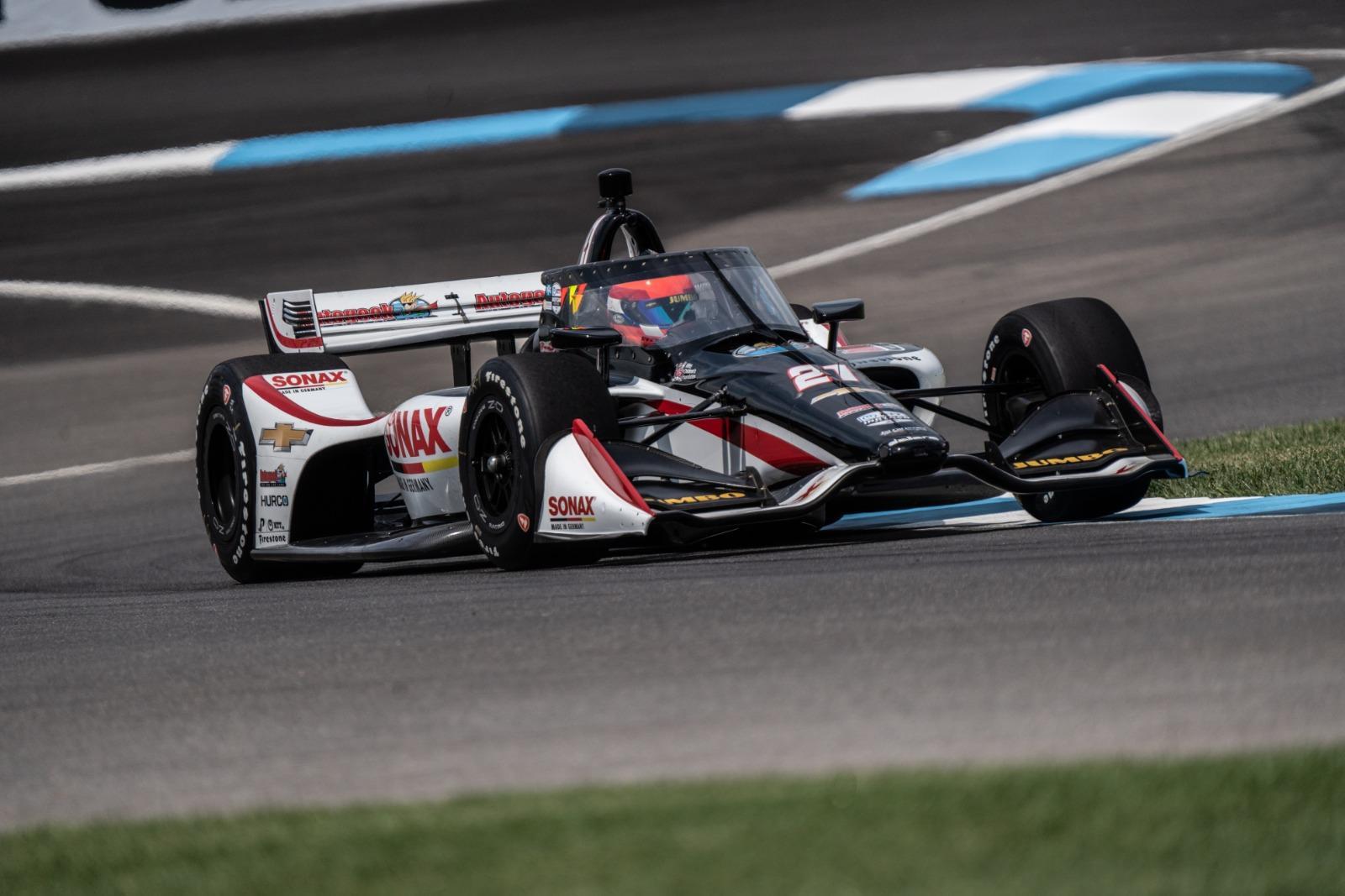 Rinus van Kalmthout spoelt zure nasmaak van Indy 500 weg met goede race: 6e plaats bij Bommarito 500