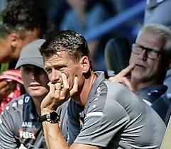 'Gewoon spelen als normaal' tegen Jong AZ. Volendam-trainer Wim Jonk waagt zich niet aan 'rekensommen' over de meest gewenste tegenstander in nacompetitie