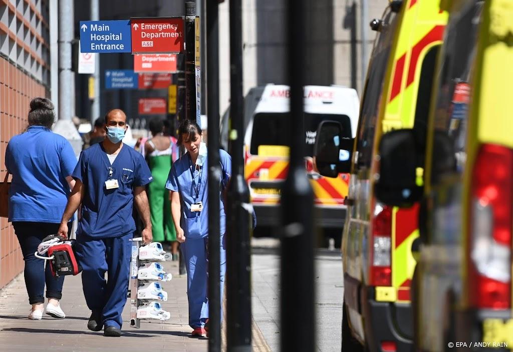 Minder meldingen Britse corona-app na contact besmet persoon