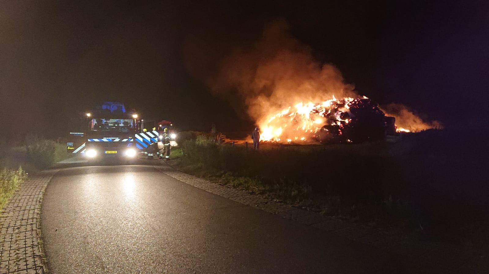 Meerdere keren brand gesticht op Texel