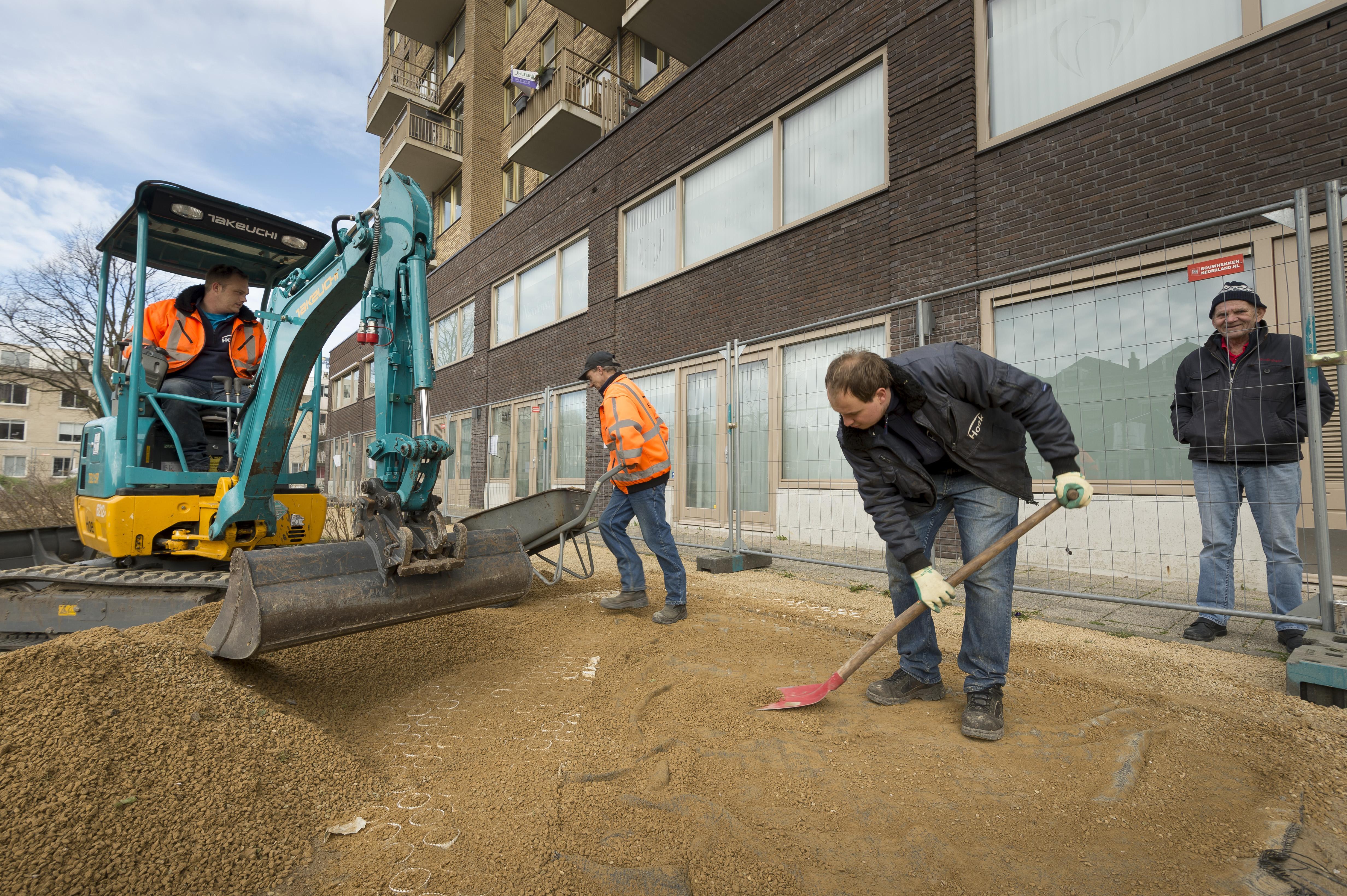 Parkje Musschenbroekstraat in Leiden op de schop voor aanplant 'tiny forest'