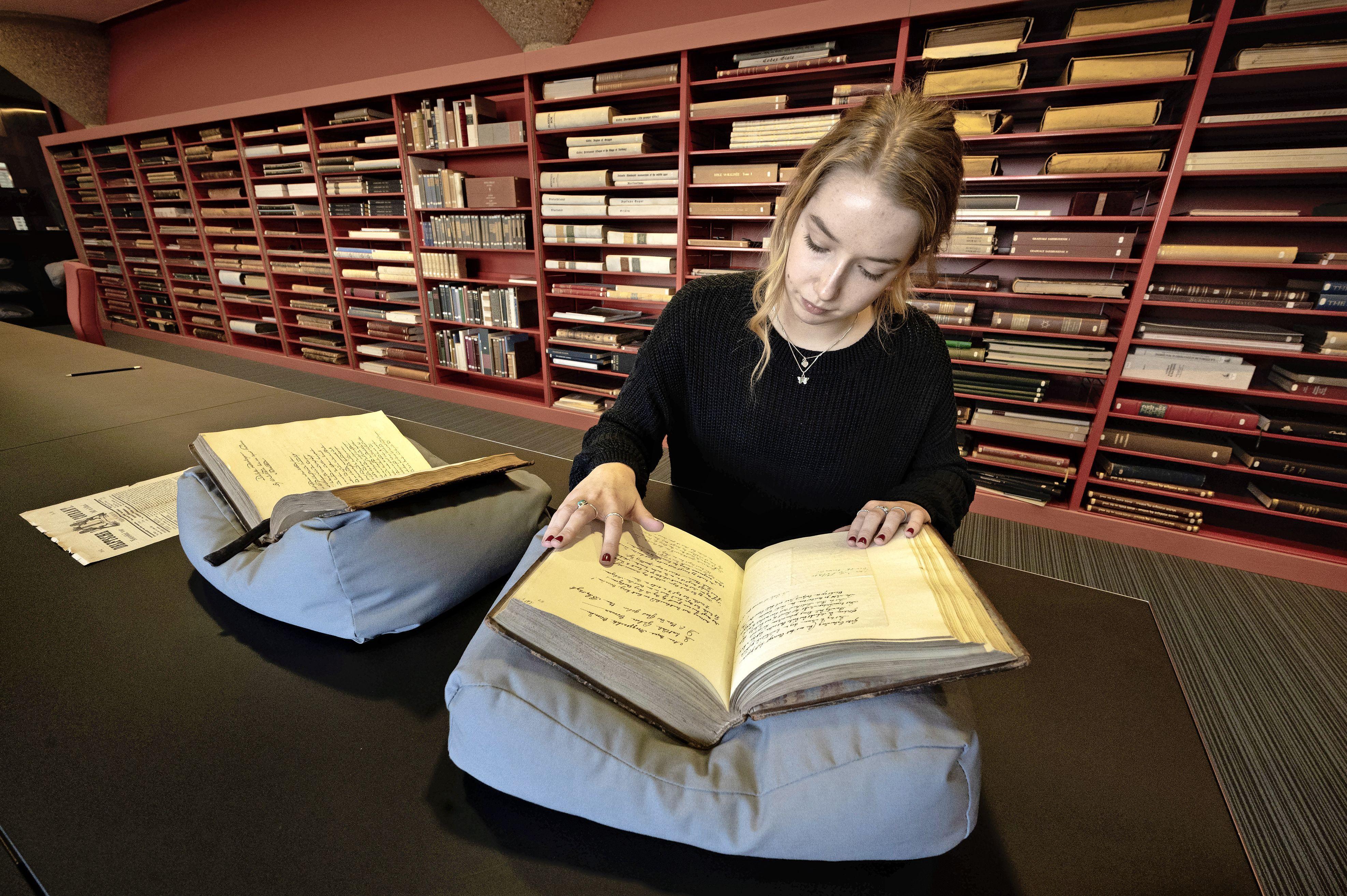Leidse student ontdekt oudste vrouwelijk literair genootschap: 'Niet wachten tot ze een plekje kregen in de mannenwereld'