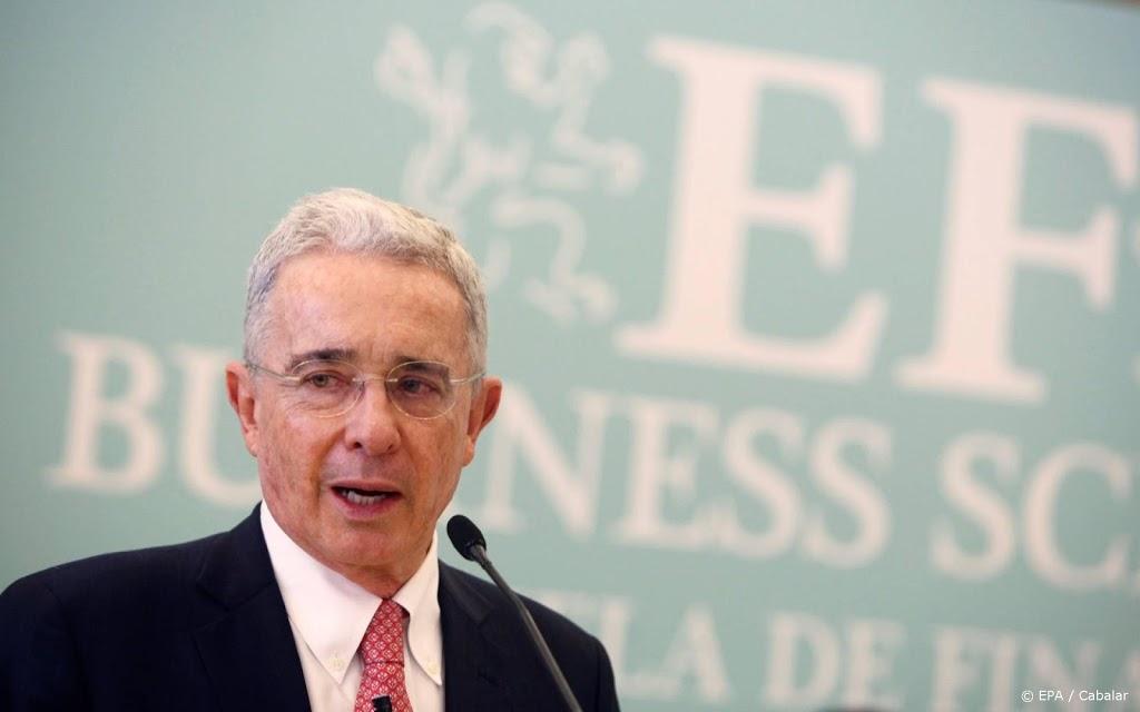 Colombiaanse oud-president Uribe test positief op coronavirus