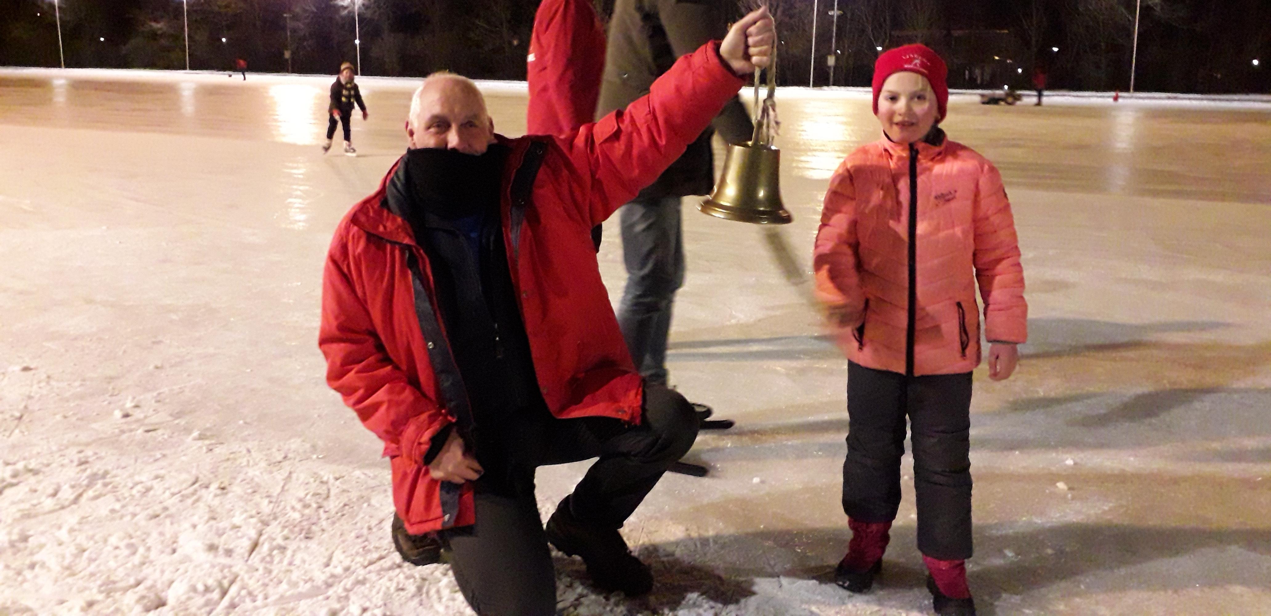 Lisanne (7) luidt laatste ronde in voor schaatsers. Gedenkwaardige winter '21 tikt in rap tempo voorbij