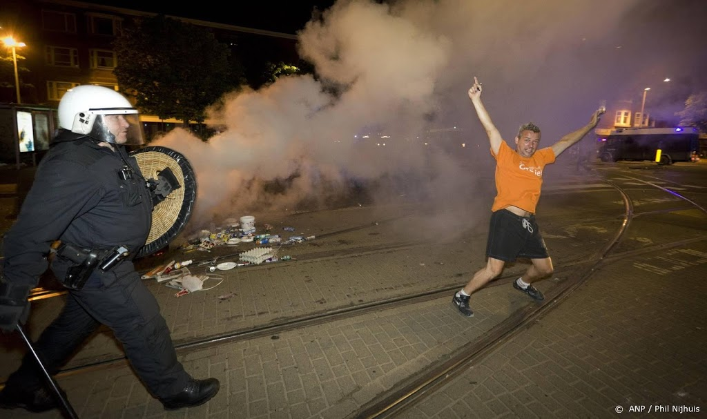 ME ingezet na onrust op plein in Den Haag