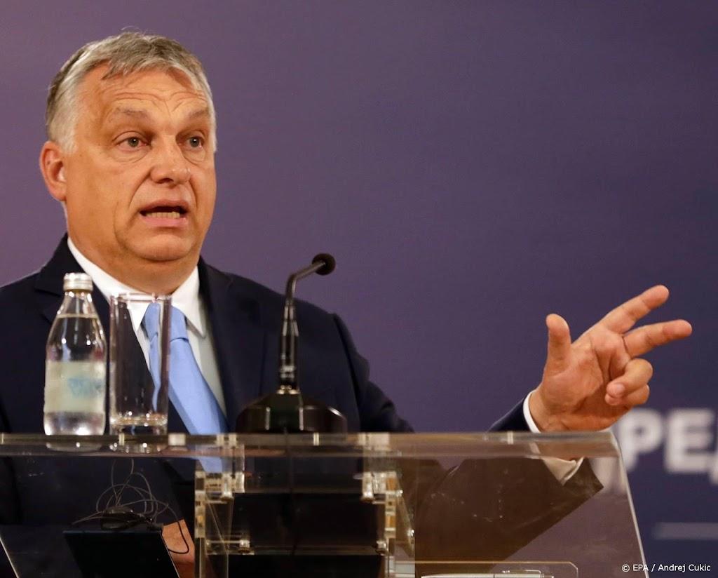 Hongarije houdt referendum over LHBTI-wet uiterlijk begin 2022