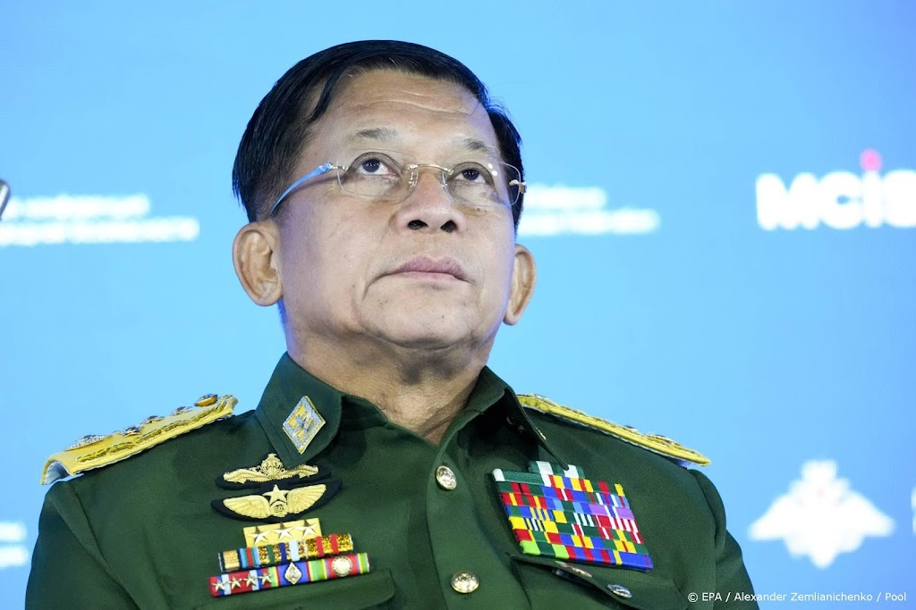 Machthebber Myanmar belooft verkiezingen in 2023