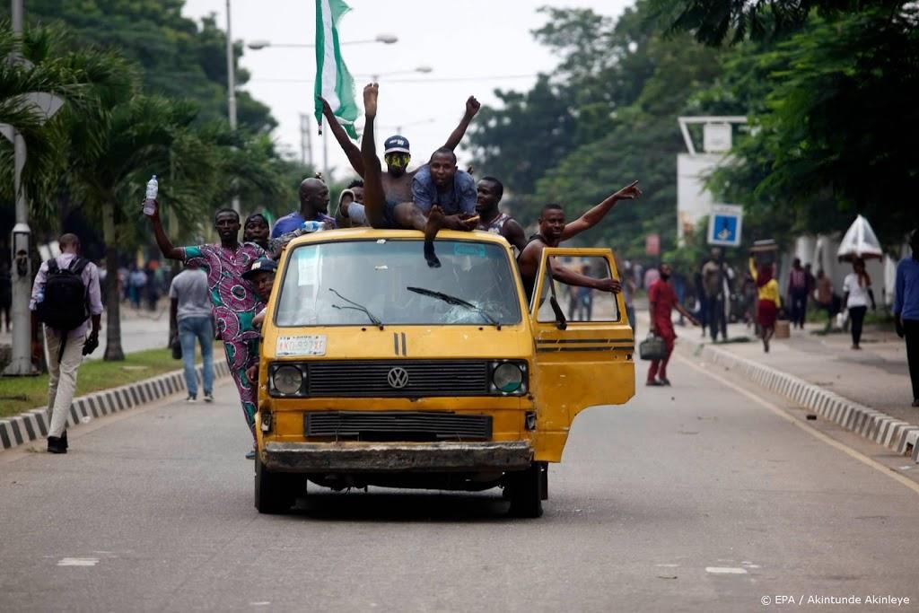 'Nigeriaanse soldaten schieten demonstranten dood in Lagos'