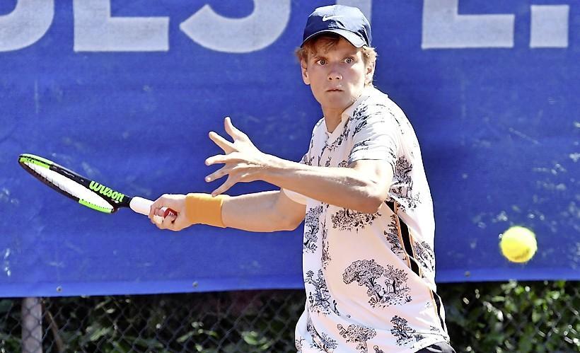 Alec Deckers verliest in tweede ronde van Open Leidse maar is eindelijk pijnvrij
