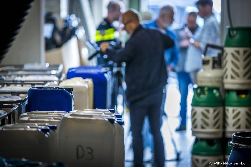 Meer drugslabs en opslaglocaties gevonden in 2020