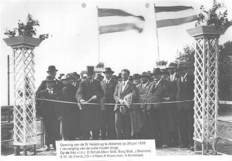 'Dr. Heijebrug in Abbenes heeft al sinds 1928 een naam', dorpsraad steekt stokje voor andere naam voor brug