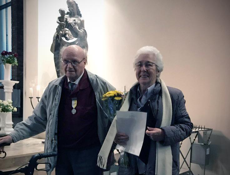 Kerkelijke onderscheiding voor Heemskerks echtpaar Tuinstra