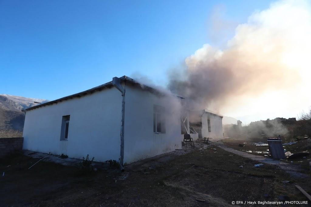 Doden en gewonden bij nieuwe beschietingen Nagorno-Karabach