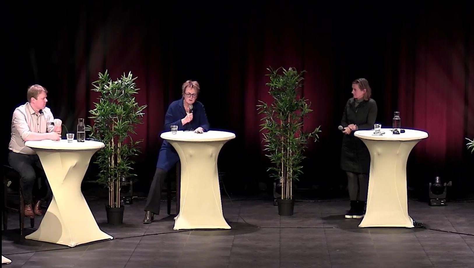 Online bijeenkomst over Domus Plus en Skaeve Huse, storm van ontevredenheid en boosheid onder Haarlemmers op YouTube [video]