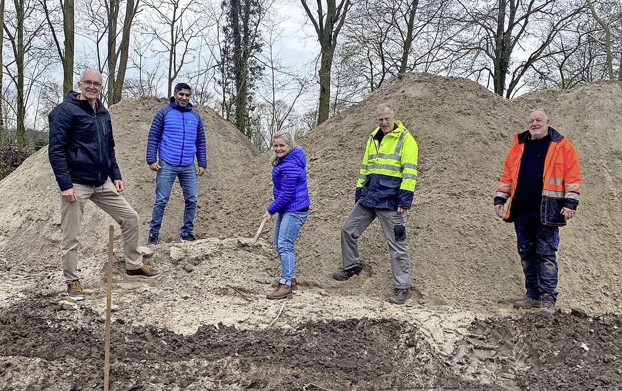 Snelst groeiende sport van het land padel komt ook in Loosdrecht: twee banen op TV De Rading