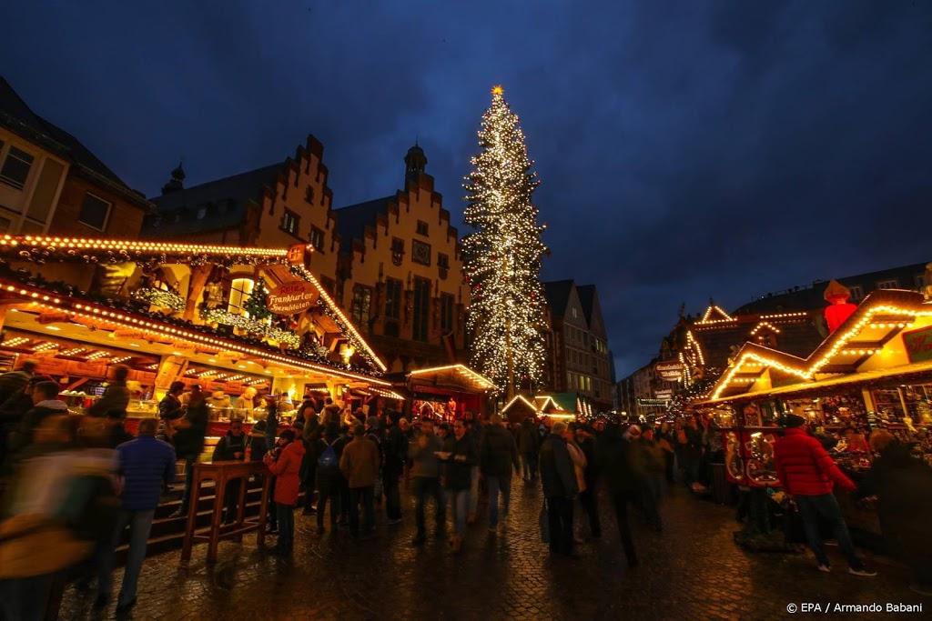 Ook Frankfurt annuleert kerstmarkt vanwege coronarisico's