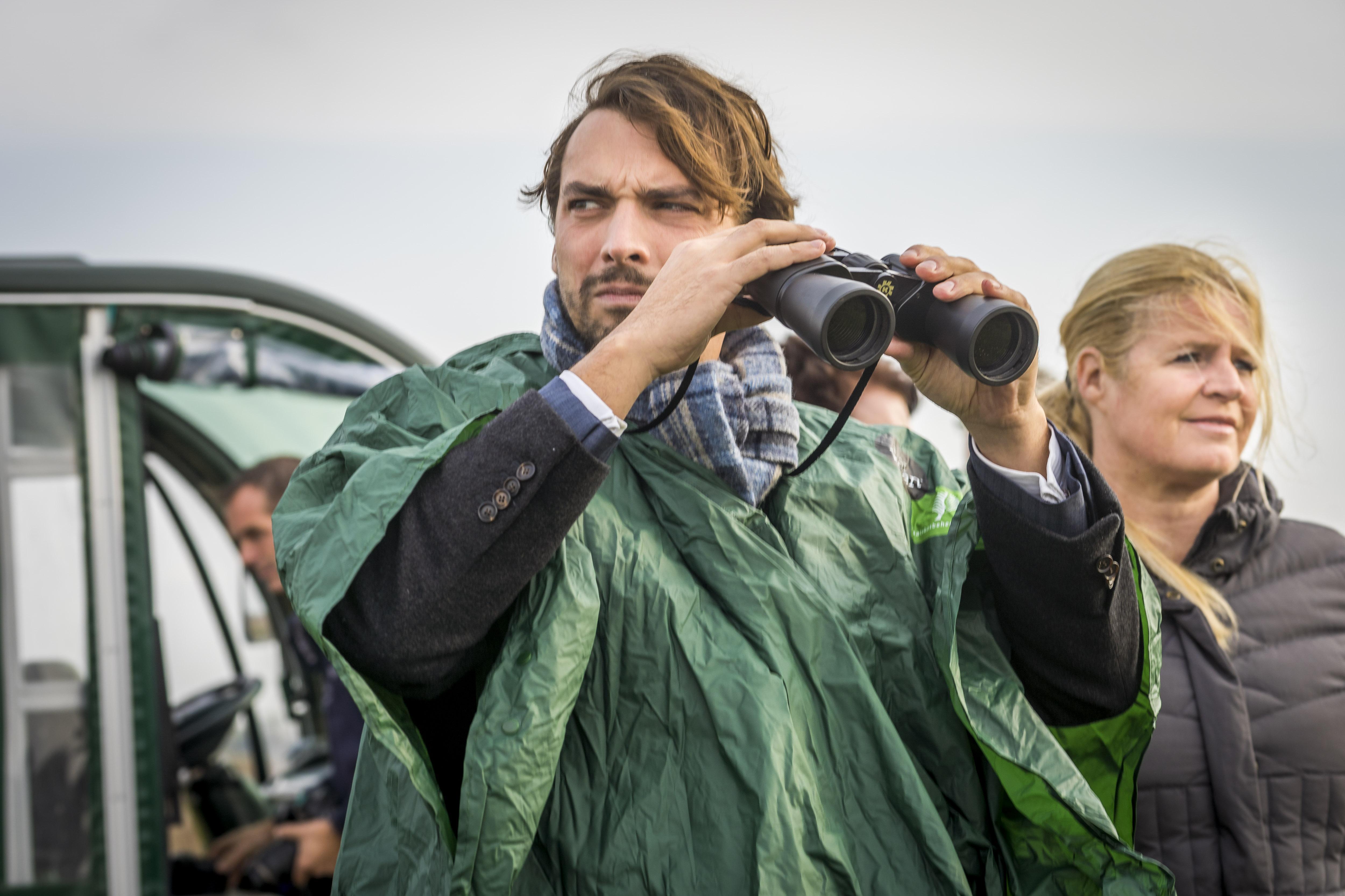 Thierry Baudet beloont inzet voor paard-, rund- en hertloze Oostvaardersplassen