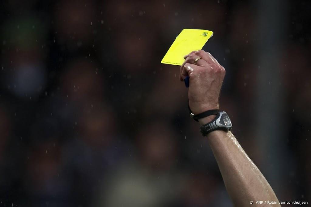Politie verdenkt Eredivisiespeler van matchfixing met gele kaart