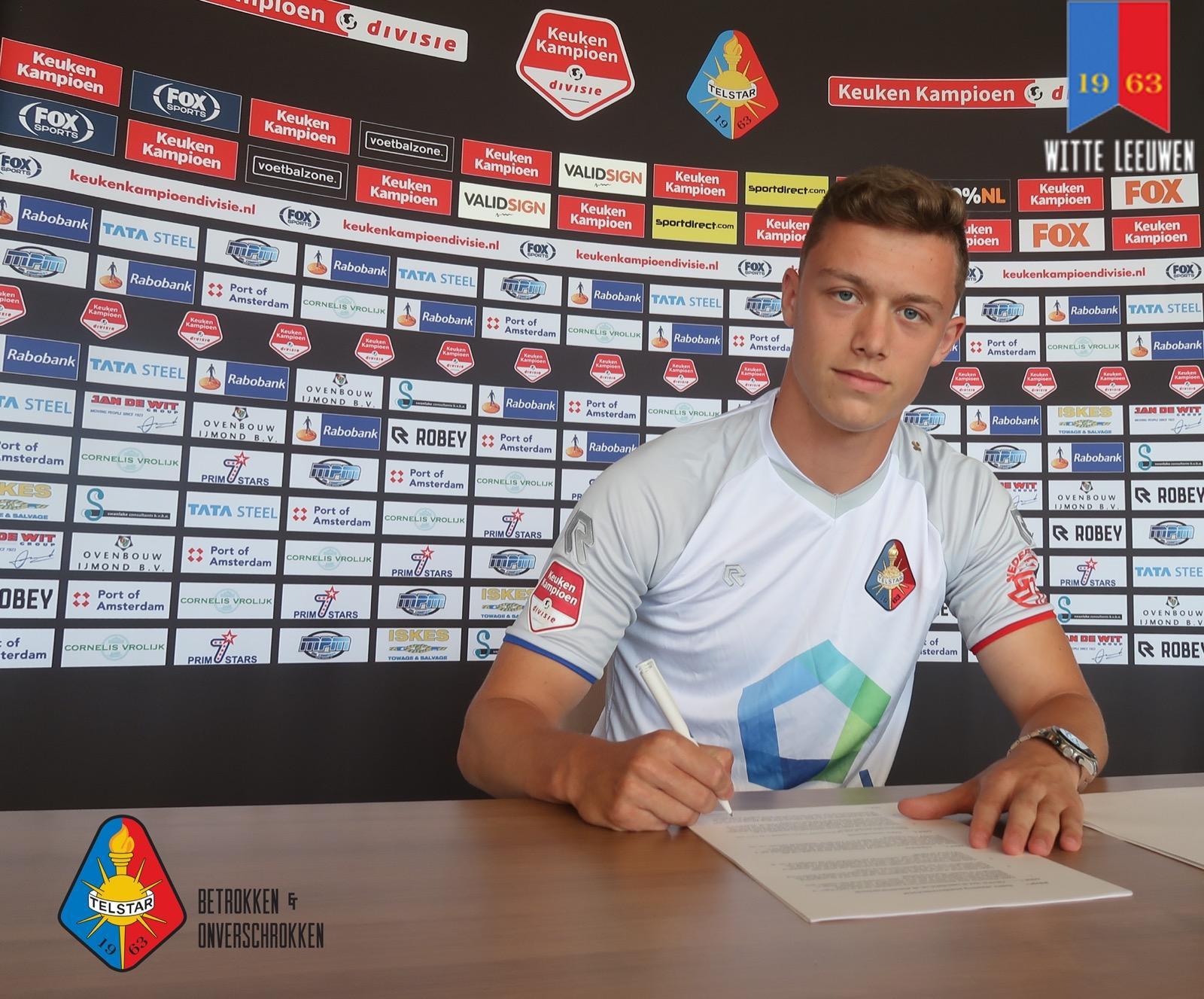 Belgisch jeugdinternational Siebe Vandermeulen tekent bij Telstar: 'Voor Telstar zijn dit soort spelers buitenkansjes'