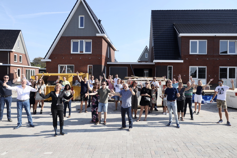 Hoek Oosterblokker na elf jaar alsnog vol met huizen