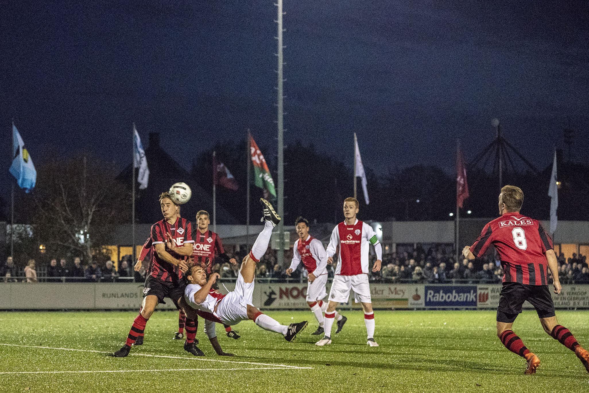 Toeschouwers van Foreholte zijn welkom bij Teylingen. 'Deze derby is bijzonder en daar horen ook Voorhouters bij. Andersom had Foreholte precies hetzelfde gedaan'