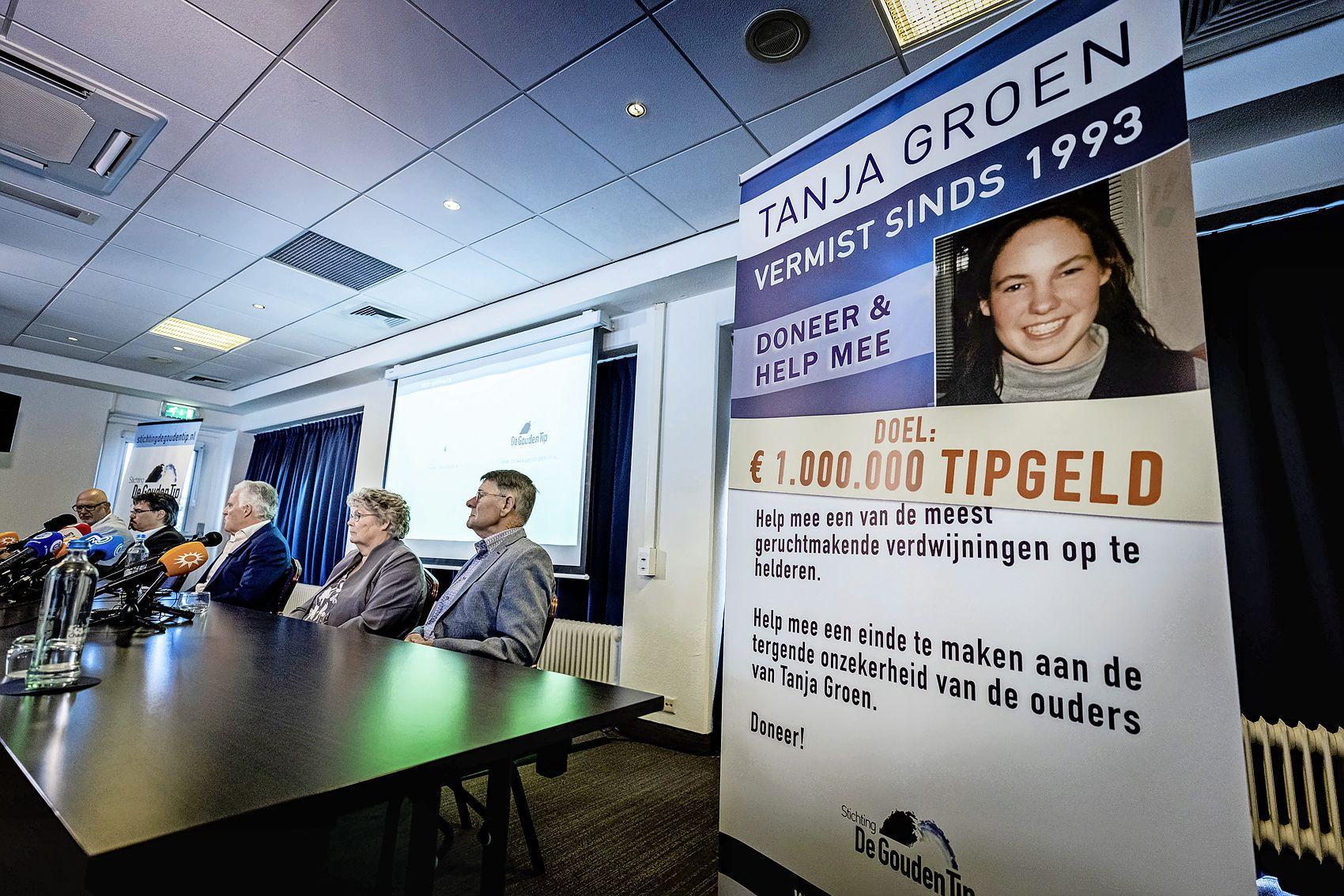 Inzamelactie gouden tip vermiste Tanja Groen opgelopen naar 1,3 miljoen euro
