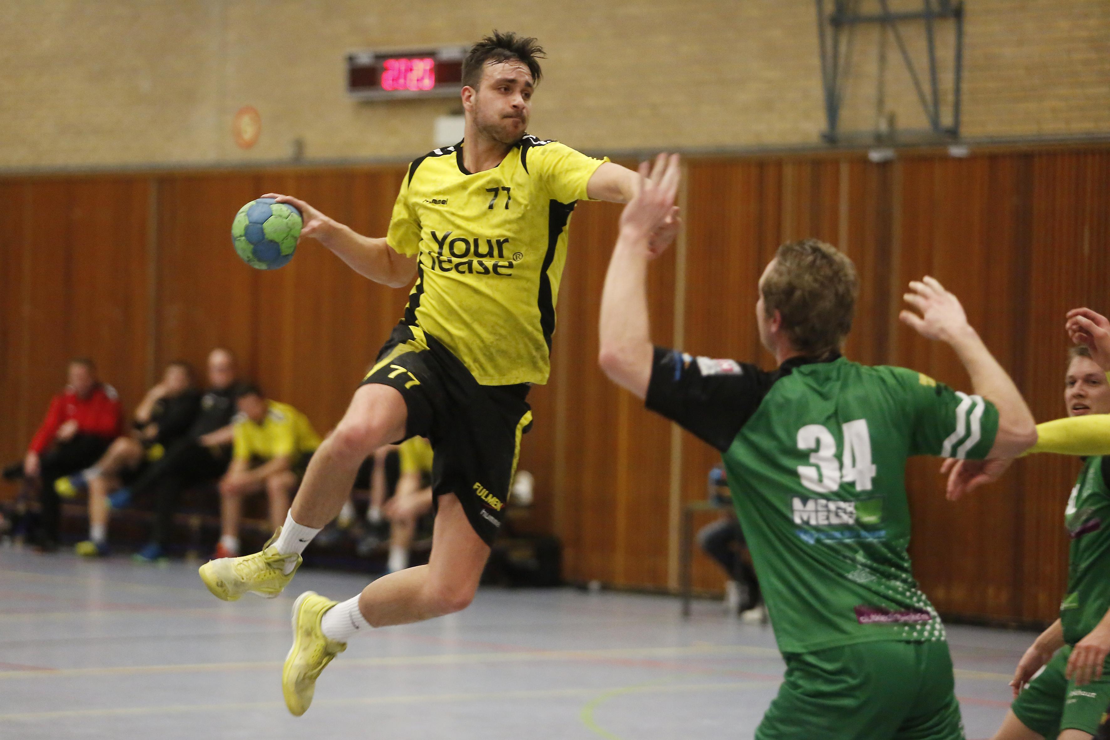 Handballers Eemland gooien ondanks theoretische kans handdoek na zoveelste 'exemplarische nederlaag'
