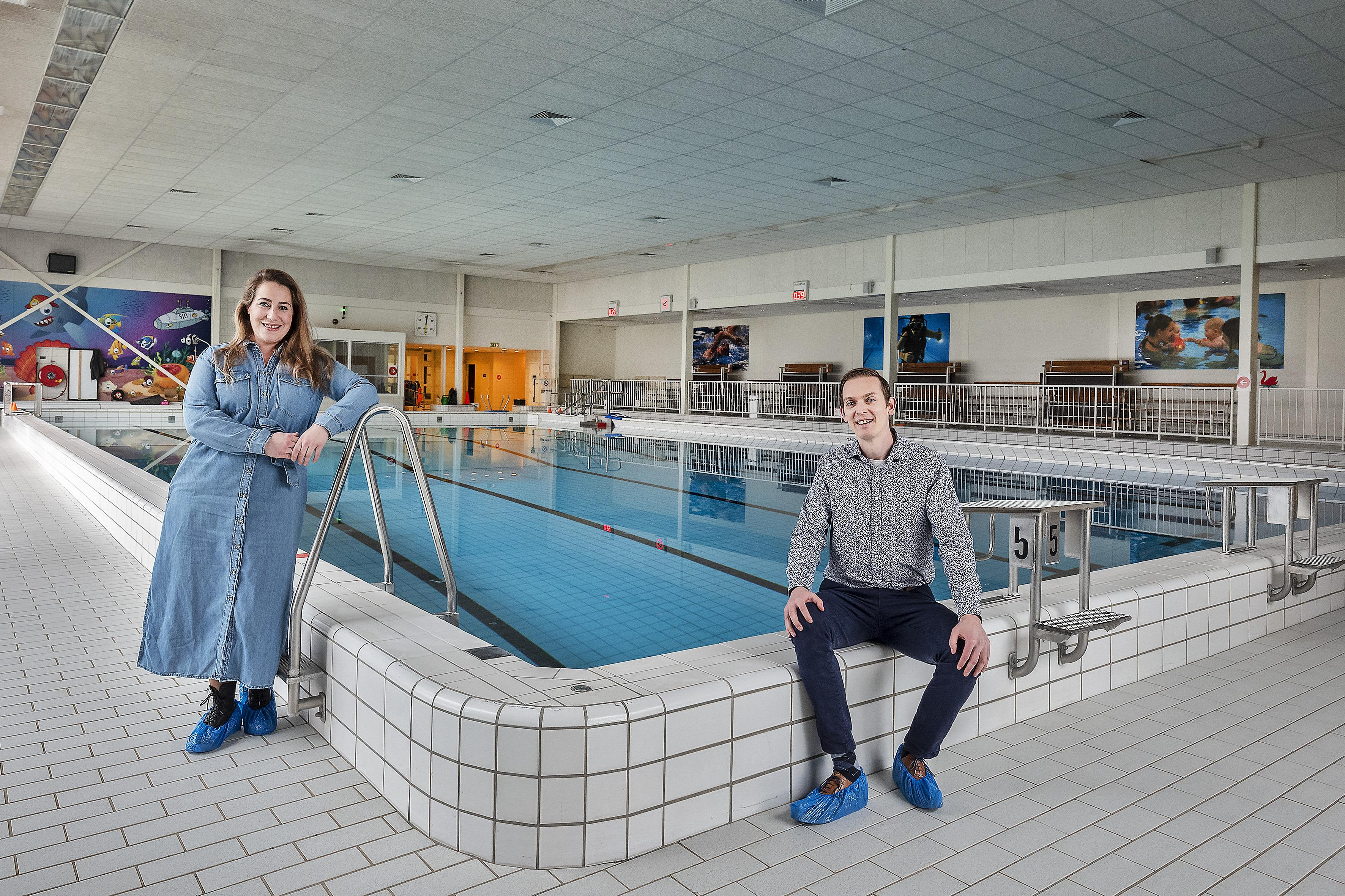 Watertemperatuur zwembaden stijgt, en daarmee ook de zin in zwemlessen: 'Het begint te kriebelen'