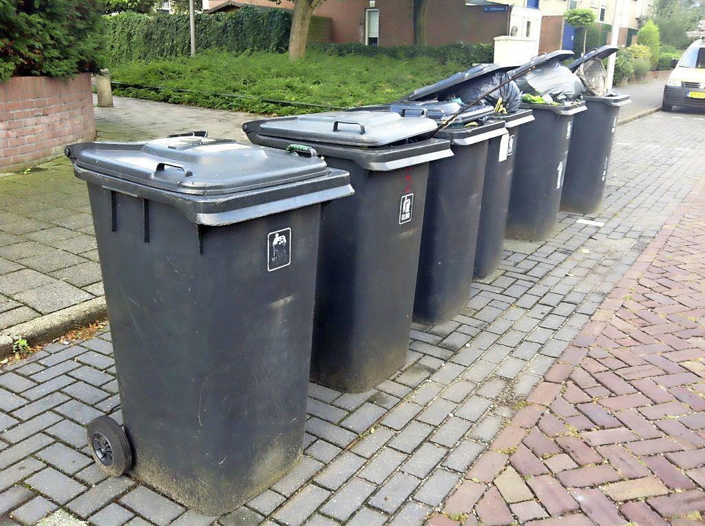Leiderdorpers mogen nieuwe vuilcontainers niet weigeren