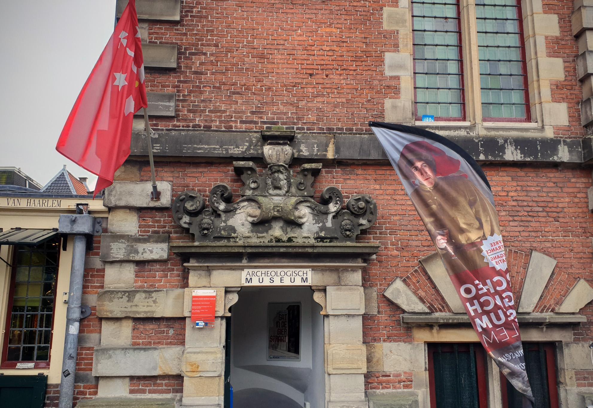 Weer meer bezoekers Archeologisch Museum Haarlem