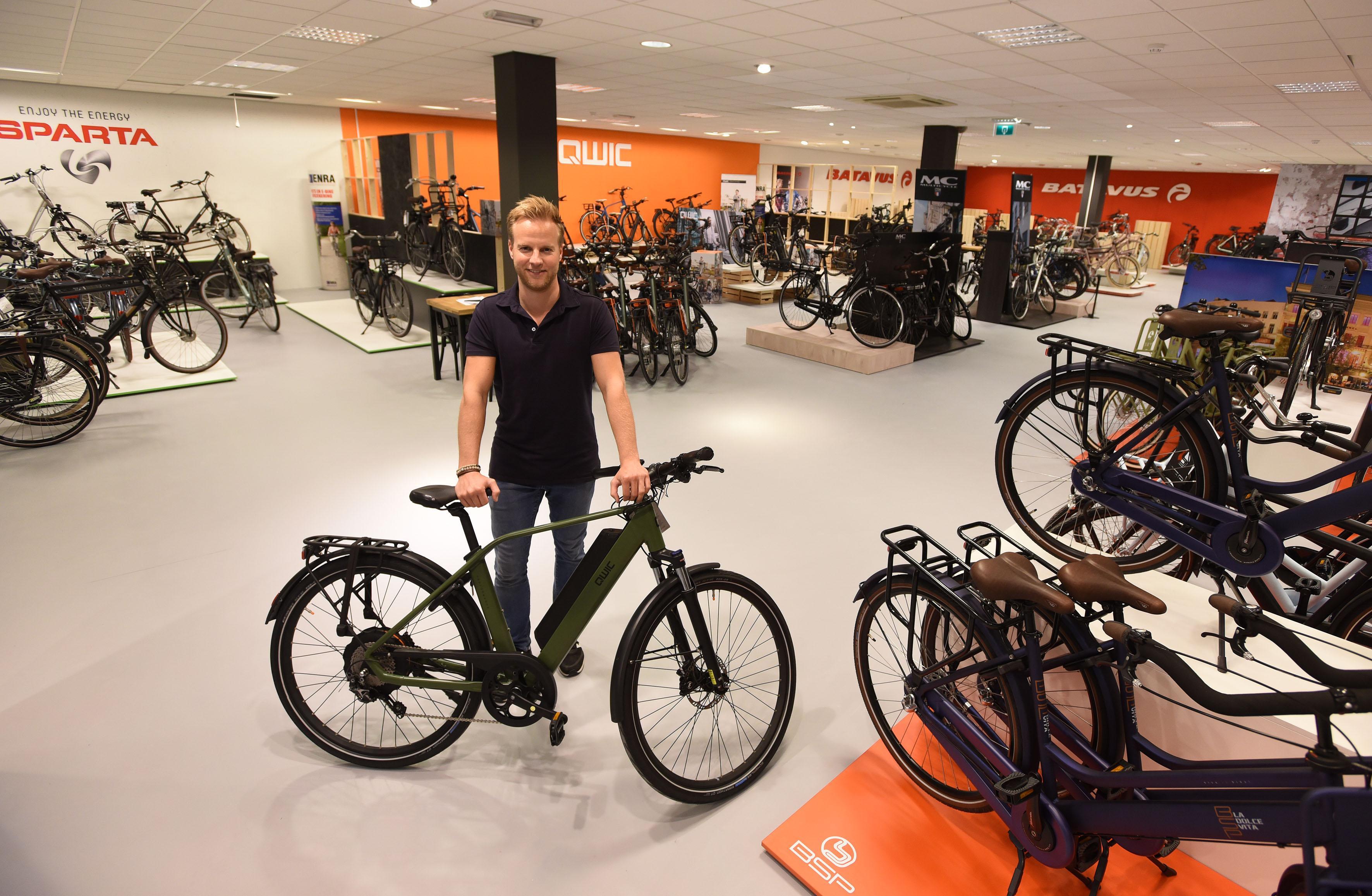 Fietsenstunt op 2500 m2 in Hoorn: 'Alle topmerken, voor het hele gezin'