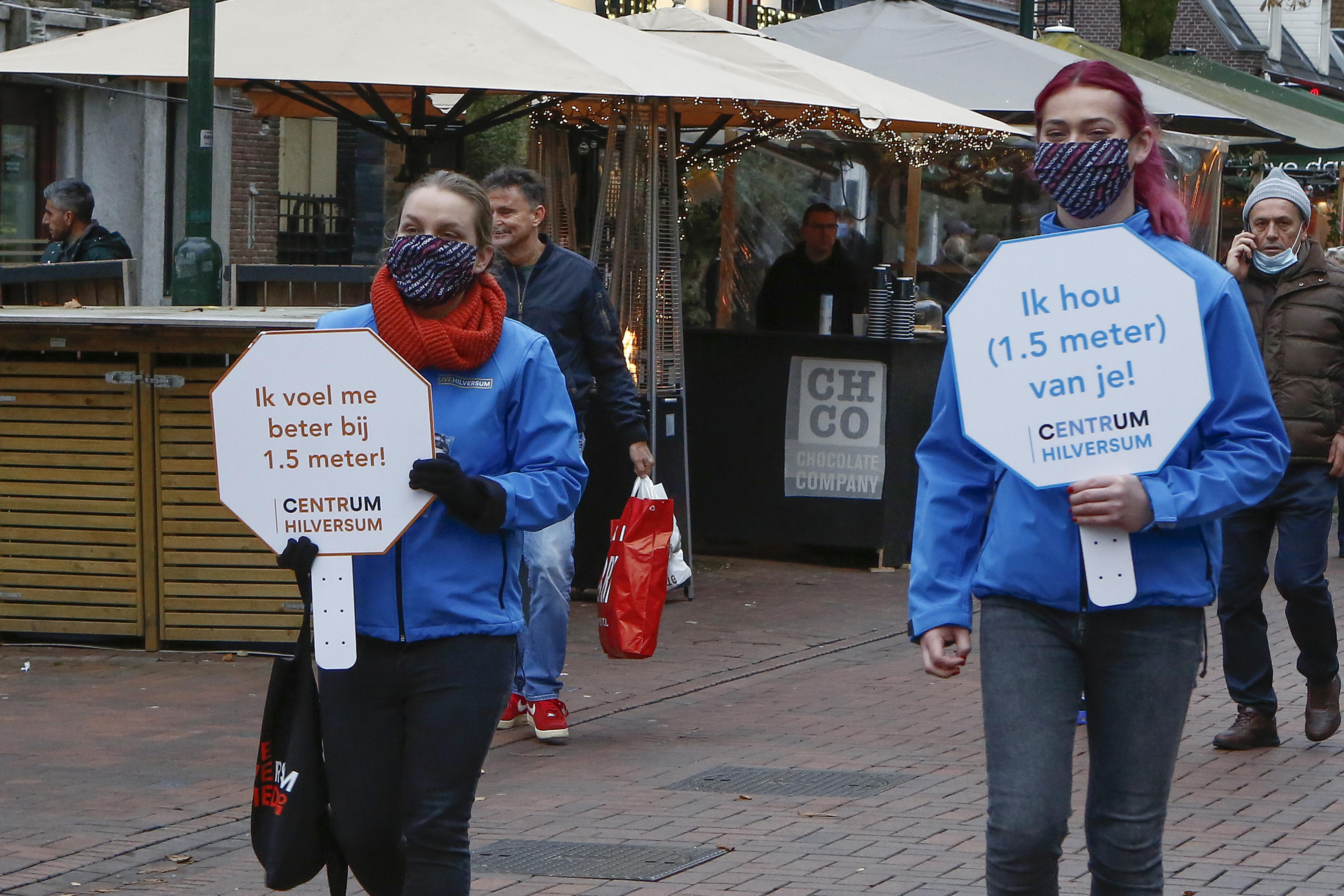 In het Hilversumse centrum was het op Sinterklaaszaterdag 'even kielekiele'. Maar 'gelukkig is het met een sisser afgelopen'
