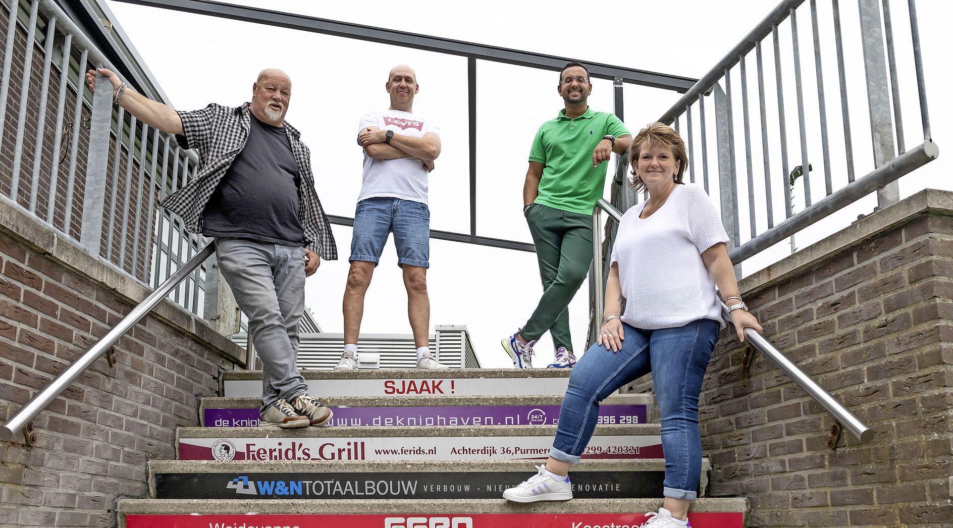 In het clubhuis van FC Purmerend kan je straks tegelijkertijd Ajax, Max en het eigen kanaal volgen