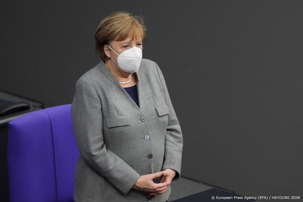'Merkel wil lockdown verlengen tot 15 februari'