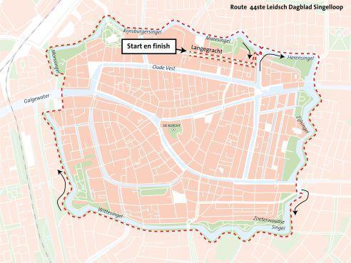 Verkeersmaatregelen en -hinder tijdens Singelloop