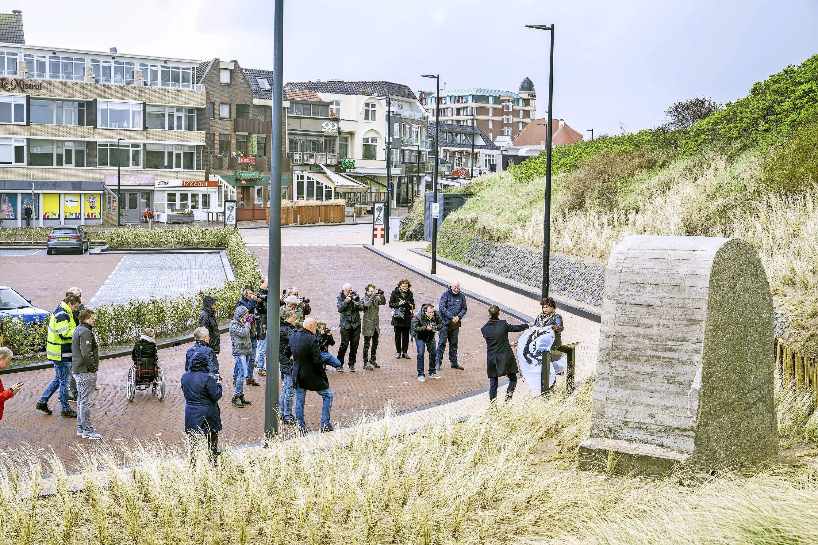 Informatiepaneel bij deel Atlantikwall onthuld: 'Het uiteindelijke verhaal omvat meer dan een brok beton'