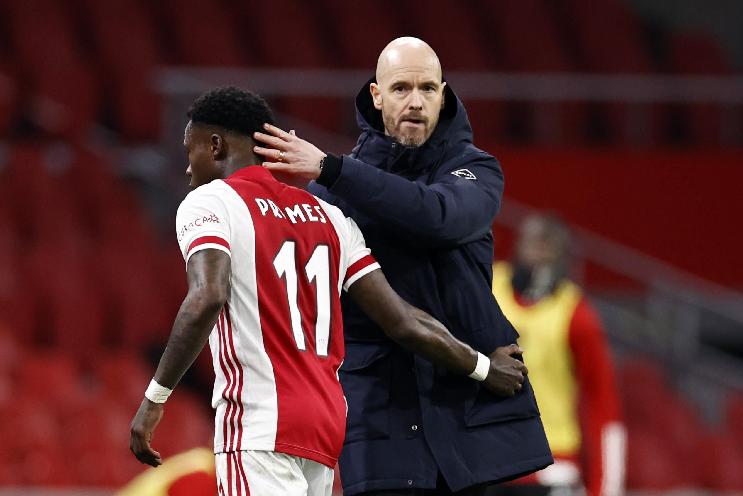 Trainer Ten Hag: Ajax heeft slechtste schema van Eredivisie