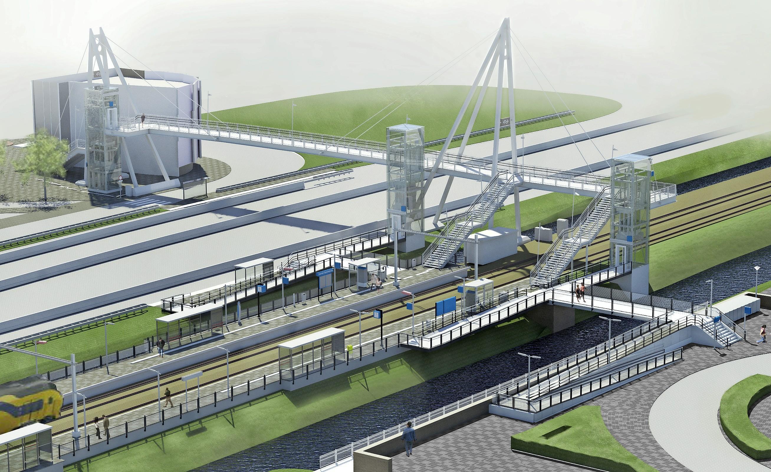 Drie liften en het obstakel Haarlem-Spaarnwoude is geslecht