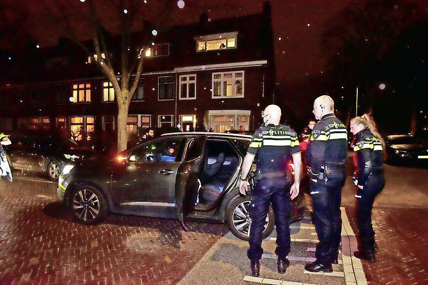 Drie mannen aangehouden na achtervolging gestolen auto in Leiden