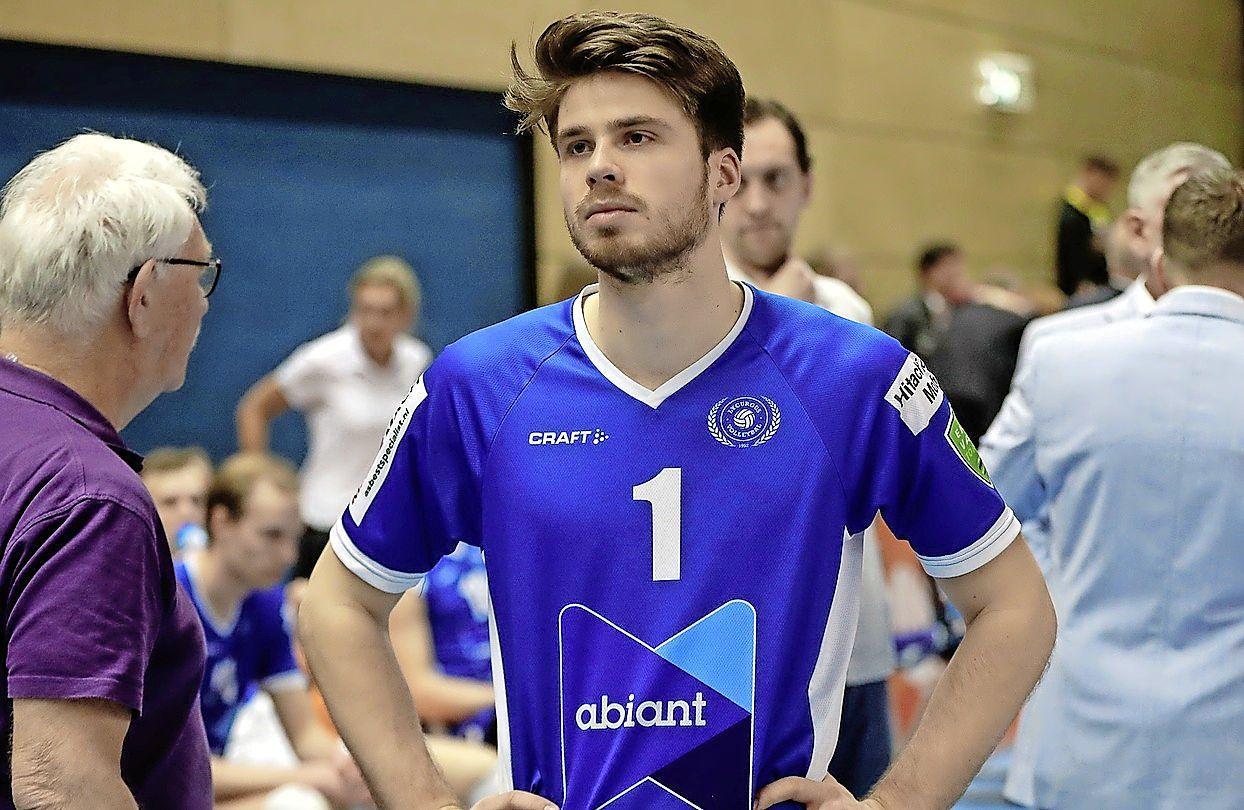 Sam Gortzak vertrekt na zes succesvolle jaren bij Lycurgus en vervolgt zijn volleybalcarrière in België