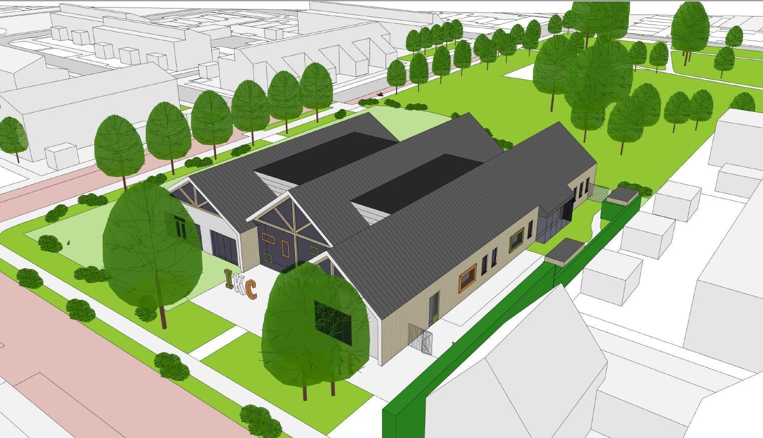 Kindcentrum 'Cornelis' stoomt door, mét parkeerruimte voor bakfietsen