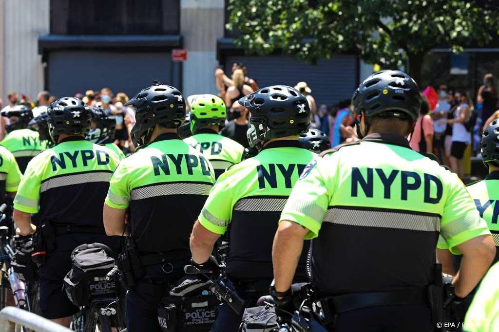 Politiekorps New York krimpt snel