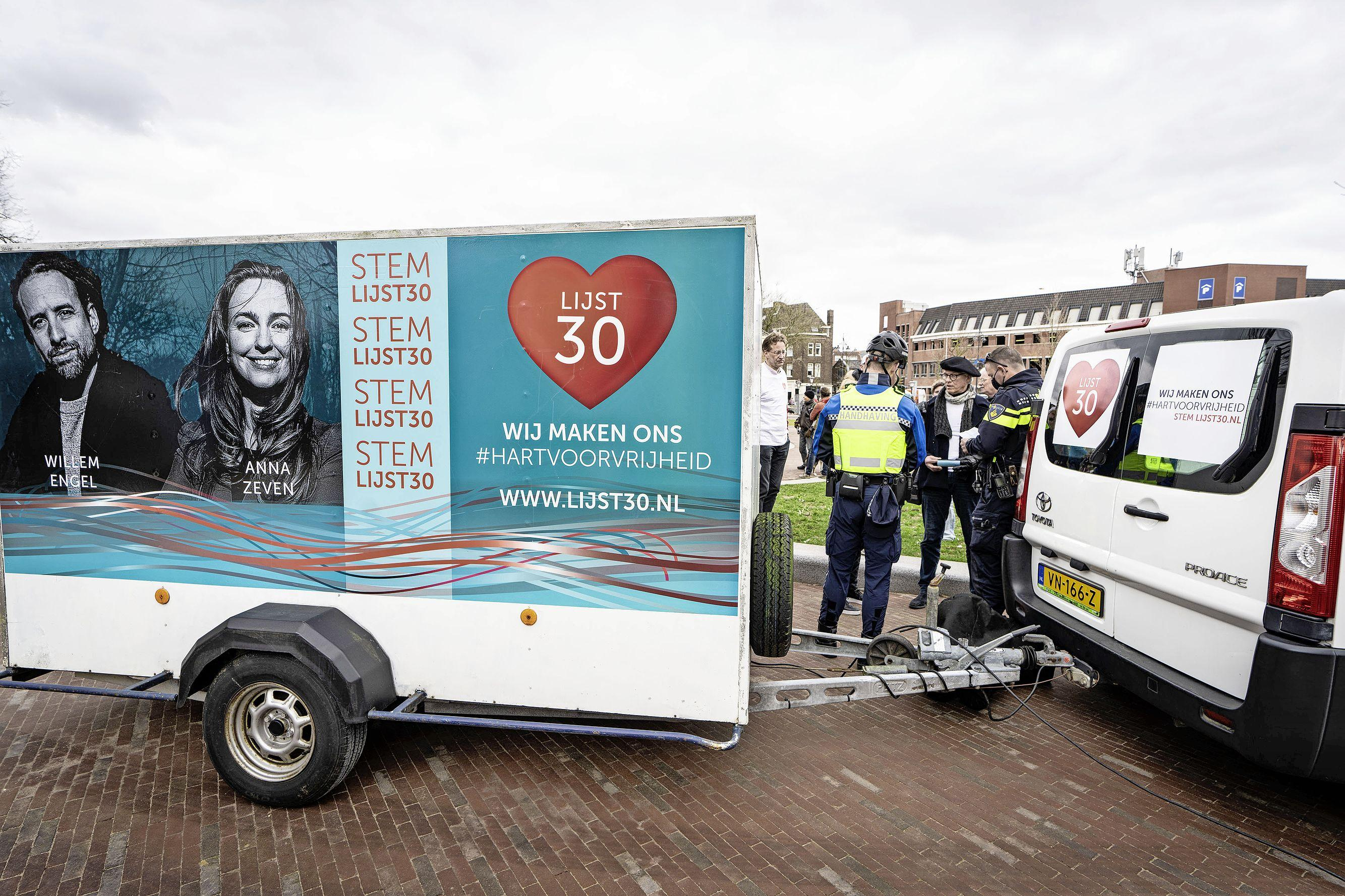 Partij van Willem Engel wil verkiezingen stilleggen om 'fraude' Kiesraad