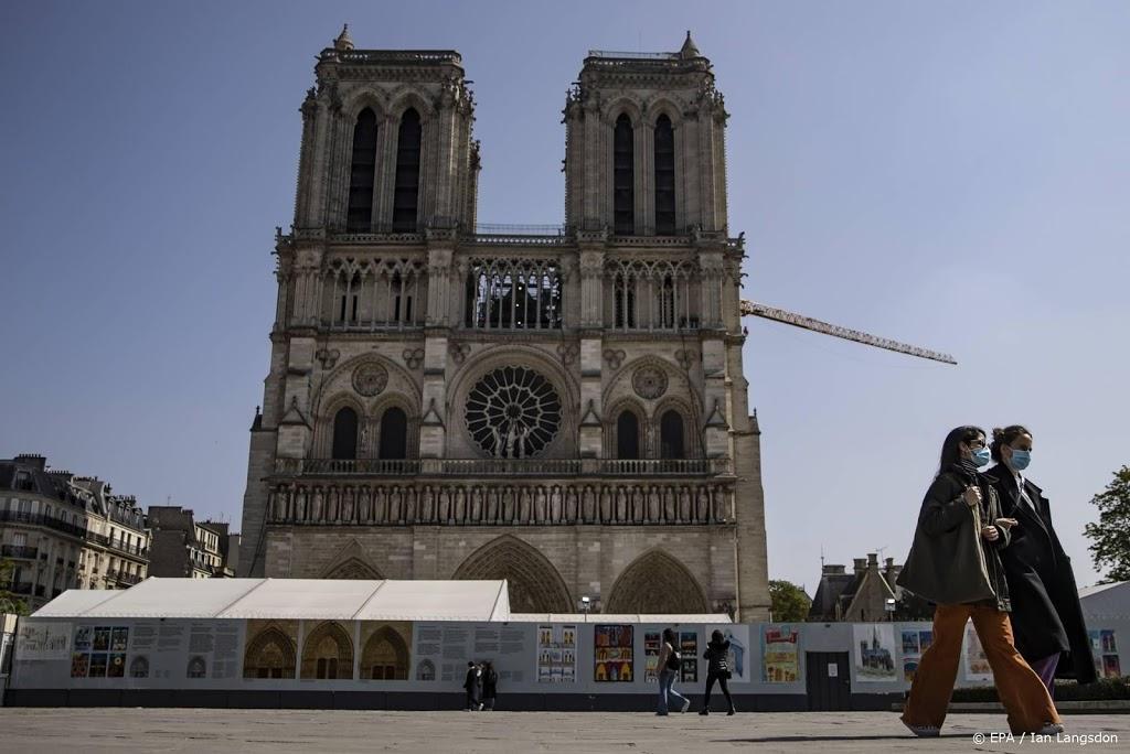 Wederopbouw Notre-Dame kan beginnen in 2022